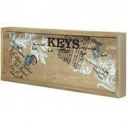 Skrzynka na klucze z 6 wieszaczkami