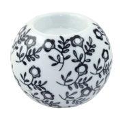 Ceramiczny okrągły świecznik na t-light