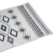 Dywanik bawełniany biały 50×80 w stylu skandynawskim