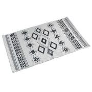 Dywanik bawełniany biały 50x80 w stylu skandynawskim