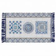 Dywanik orientalny bawełniany z wzorami tureckimi 50x80