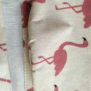 Wiszący organizer do łazienki kuchni Flamingi wodoodporny