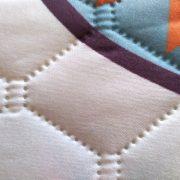 Narzuta pikowana bez nici narzuta na łóżko