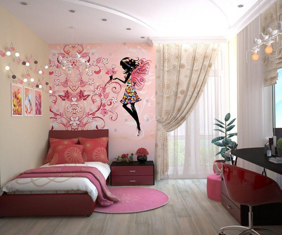 pomysł na pokój dla dziewczynki