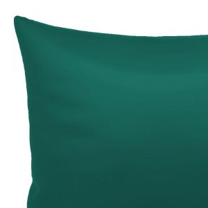 POSZEWKA ciemny turkus jednobarwna gładka 45x45 ozdobna