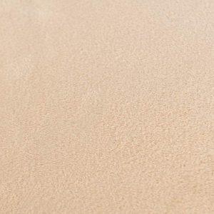 Poszewka dekoracyjna beżowa jasna kremowa welwetowa 40x40 gładka