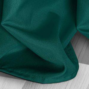 Zasłona ciemny turkus na przelotkach jednobarwna 140x250 gotowa