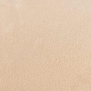 Zasłona welwetowa beżowa jasna gotowa na przelotkach 140x260 gładka