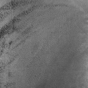 Zasłona welwetowa szara gotowa na przelotkach 140x260 gładka