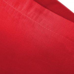 Prześcieradło bawełniane czerwone matowe gładkie 220x240