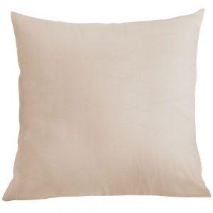 Poszewka na poduszkę jasiek bawełniana 40x40 cappucino