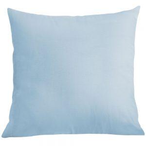 Poszewka na poduszkę błękitna bawełniana jasiek 40x40