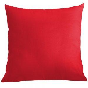 Poszewka na poduszkę czerwona bawełniana jasiek 40x40