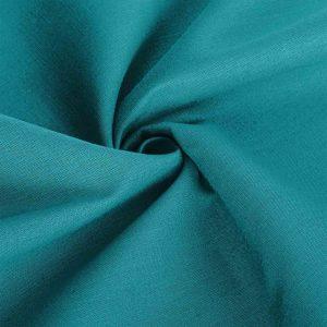 Poszewka na poduszkę jasiek bawełniana 40x40 turkusowa