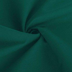 Poszewka na poduszkę butelkowa zieleń bawełniana jasiek 40x40