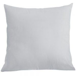Poszewka na poduszkę jasiek bawełniana 40x40 szara