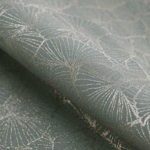 Bieżnik grafitowy ze srebrnym nadrukiem elegancki Glamour 40x140