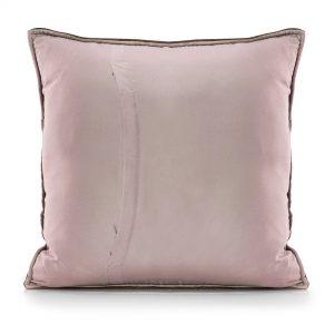 Poszewki dekoracyjne ekskluzywne velvetowe fioletowa komplet 2*45x45