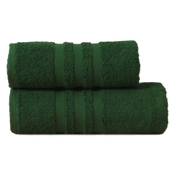 Gruby ręcznik frotte zielony ciemny bawełniany kąpielowy 70×140 Modern.jpg