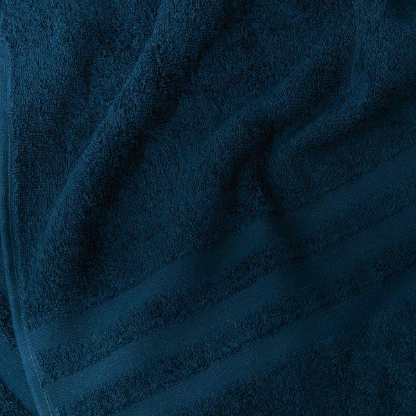 Gruby ręcznik frotte granatowy kąpielowy 50x90 bawełniany nowoczesny